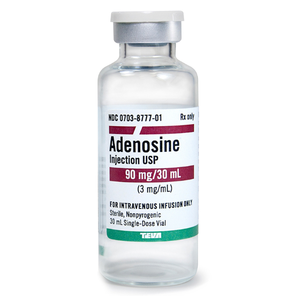 Rx Item-Adenosine 3Mg/ml Vial 30ml By Teva Pharma