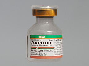 Rx Item-Adrucil Sdv 500mg 10ml Vial 10X10ml By Teva Pharma