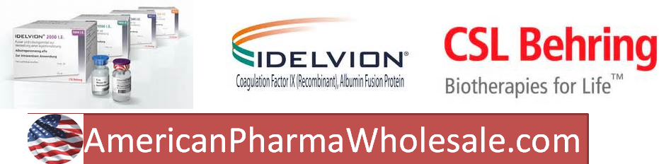 RX ITEM-Idelvion 1953 Unit Single Dose Vial  By CSL Behring ASD Healthcare