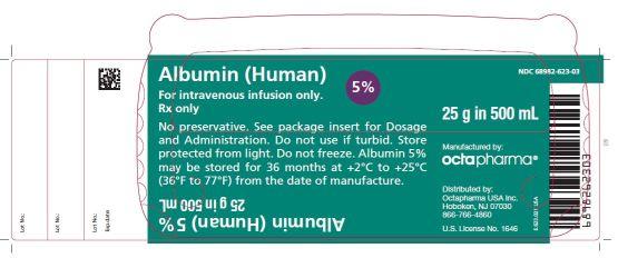 Rx Item-Albumin 5% Sol 500ml 2 5gm By Octa Pharma Albumin Human