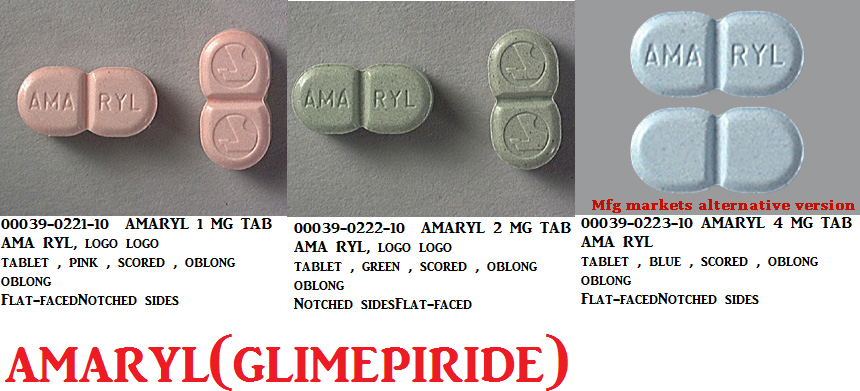 '.Glimepiride 1Mg Tab 4 By Carlsbad Techno.'