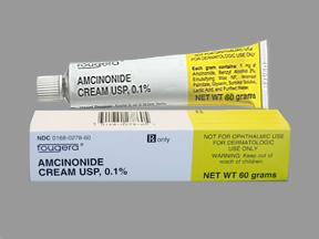 Rx Item-Amcinonide 0.1% Cream 60gm By Fougera Pharma
