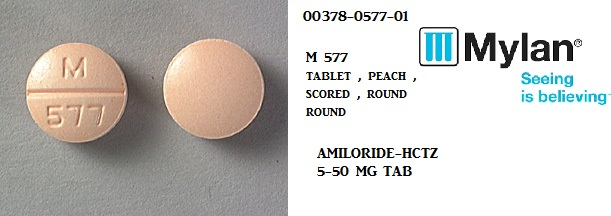 Rx Item-Amiloride-Hctz 5mg 50mg Tab 500 By Mylan Pharma