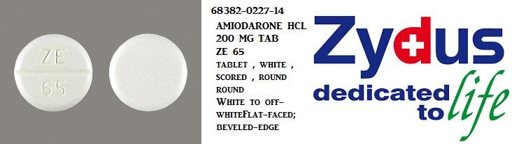 '.AMIODARONE HCL 200 MG TAB 60.'