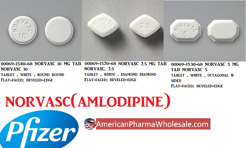 RX ITEM-Norvasc 5Mg Tab 300 By Pfizer Pharma