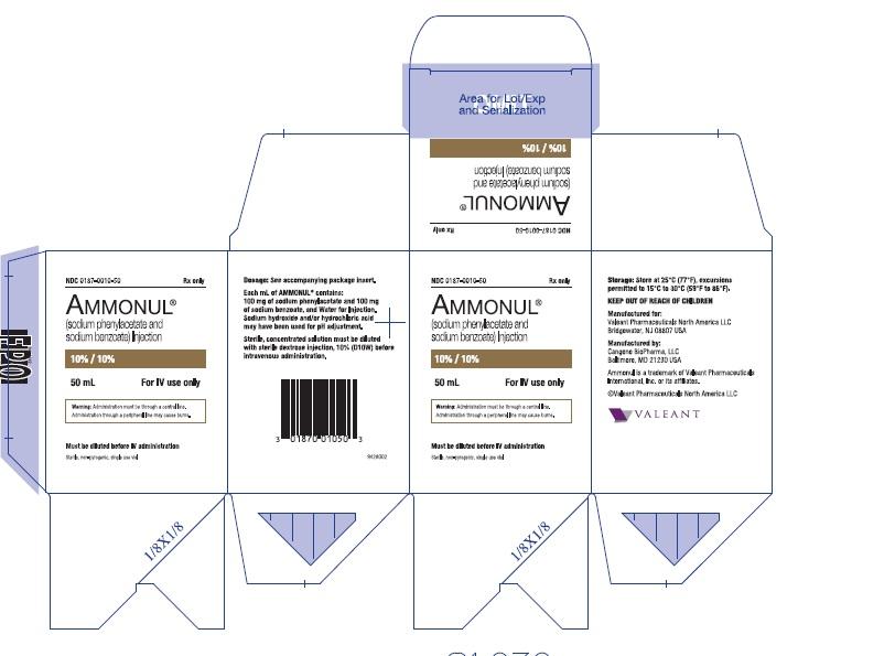 Rx Item-Ammonul 10% 10% Vial 50ml By Valeant Pharma