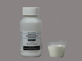 Rx Item-Amoxicillin 400Mg/5ml Sus 100ml By Hikma(Westward)  Pharma