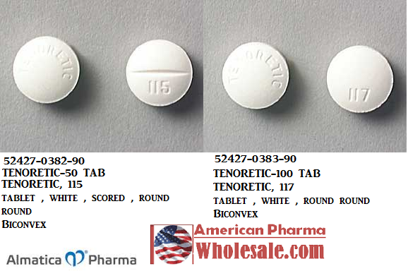 RX ITEM-Tenoretic 100 100Mg 25Mg Tab 100 By Almatica Pharma