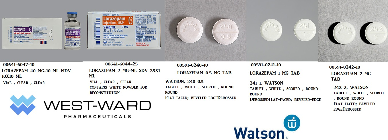 RX ITEM-Lorazepam 0.5Mg Tab 100 By Actavis Pharma