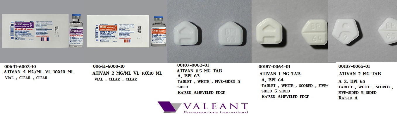 3 mg of ativan