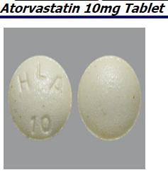 RX ITEM-Atorvastatin 10mg Tab 90 by Sandoz Pharma