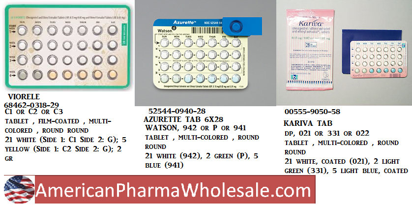 RX ITEM-Azurette 21 5 Tab 6X28 by Method Pharma