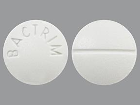 RX ITEM-Bactrim 400mg 80mg Tab 100 by Sun/Caraco Pharma