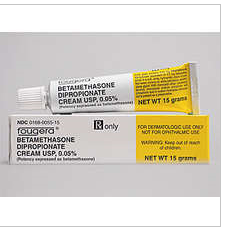 RX ITEM-Betamethasone Dipropionate 0.05% Cream 15gm by Fougera Pharma