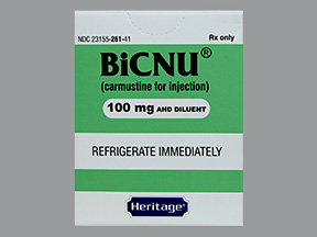 RX ITEM-Bicnu 100mg Vial 1 by Heritage Pharma