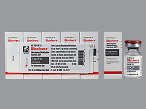 RX ITEM-Bloxiverz 0.5mg/ml Vial 10X10ml by Eclat Pharma