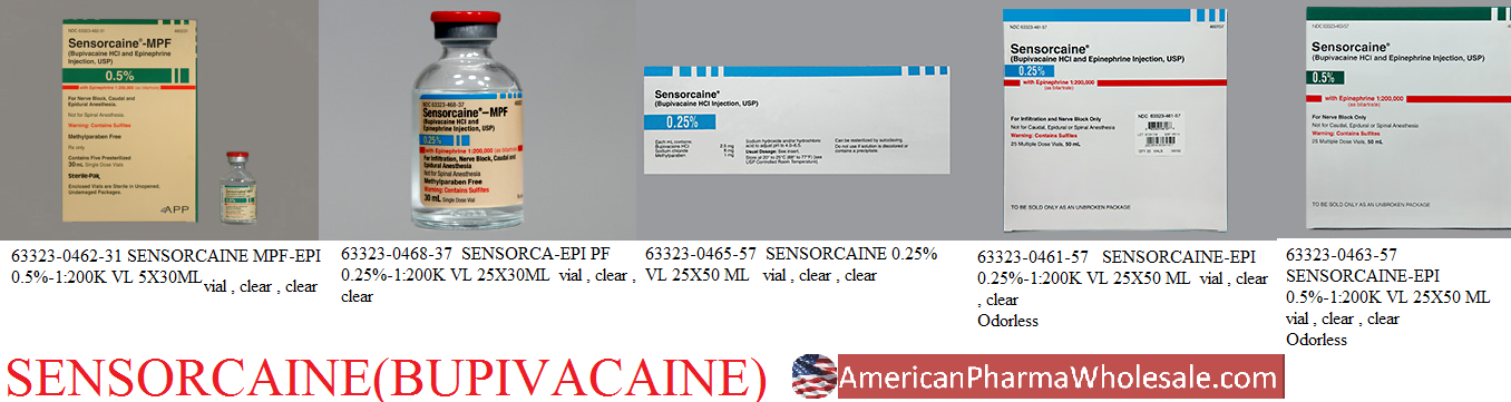 RX ITEM-Sensorcaine 2.5Mg/Ml Vial 25X30Ml By Fresenius Kabi USA