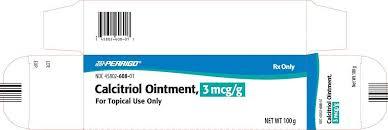 Rx Item-Calcitriol 3mcg G Ointment 100gm By Perrigo Pharma