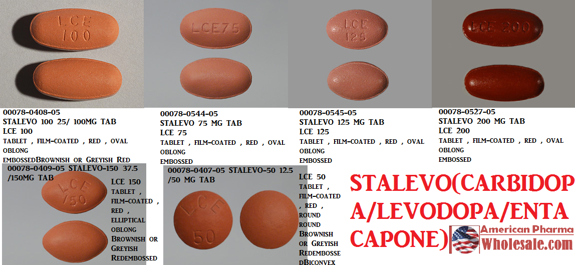 '.Stalevo-150/37.5 150Mg Tab 100 By Novart.'