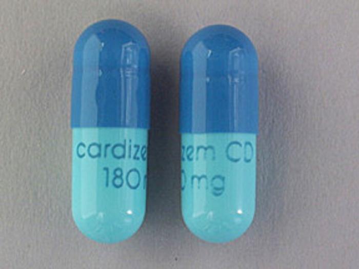 Rx Item-Cardizem CD 180mg Cap 30 By Valeant Pharma
