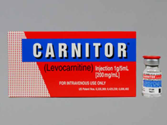 Rx Item-Carnitor 200Mg/ml Vial 5X5ml By Sigma Tau Pharma Rx
