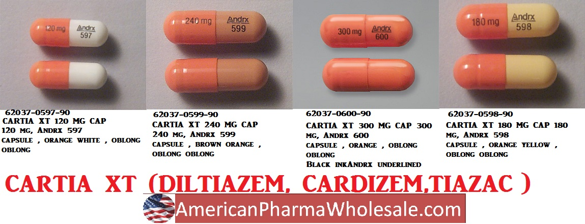 Rx Item-Cartia Xt 120mg Cap 500 By Actavis Pharma