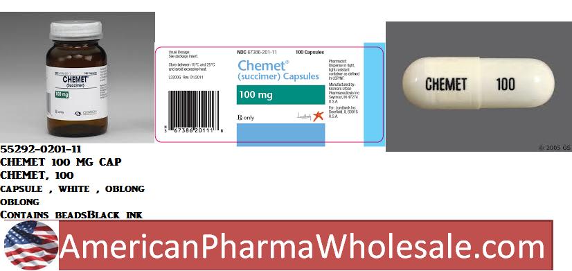 RX ITEM-Succimer 98% Powder 100Gm By Medisca