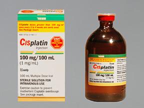 RX ITEM-Cisplatin 1Mg/Ml Vial 100Ml By Teva Pharma