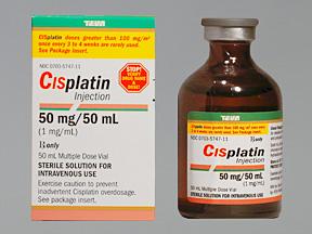 Cisplatin 1mg/ml Vial 50ml by Teva Pharma