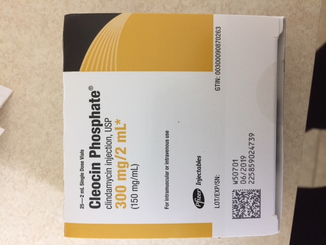 RX ITEM-Cleocin 150Mg/Ml Single Dose Vial  25X2Ml By Pfizer Pharma