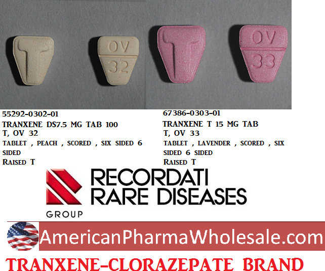 Clorazepate 15mg Tab 100 by Mylan Pharma