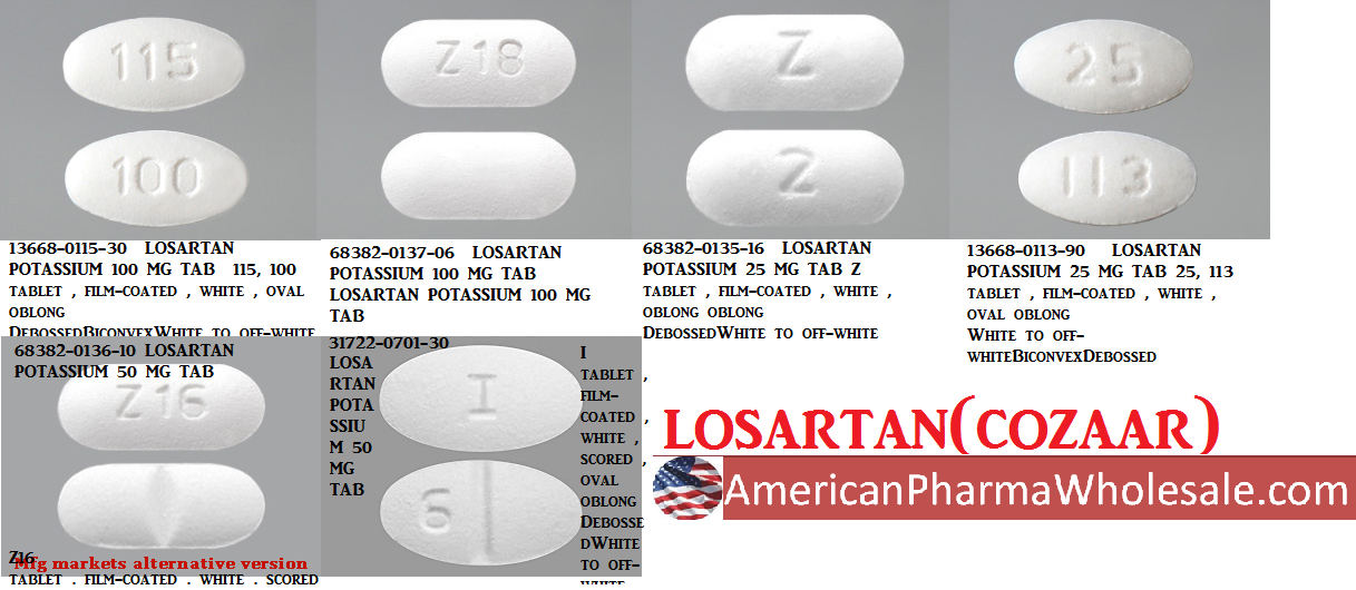 RX ITEM-Losartan 100Mg 30 Tab By Aurobindo Pharma