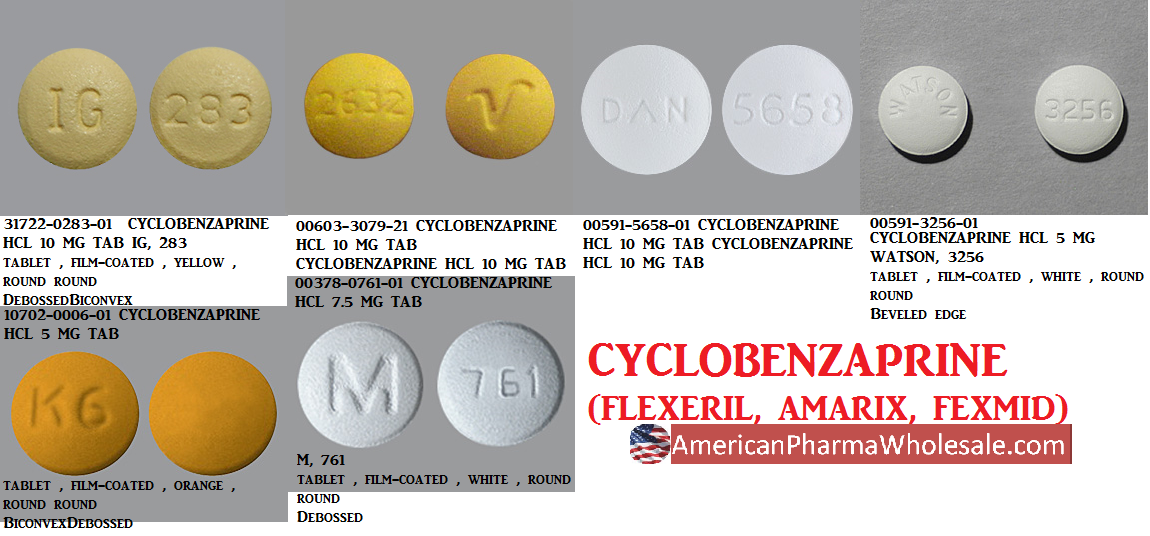 cyclobenzaprine 5mg street name