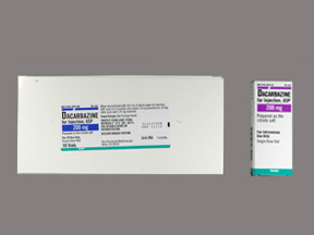 RX ITEM-Dacarbazine 200Mg Vial 10 By Teva Pharma