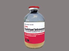 Dantrium 20mg Vial 6 by JHP Pharma