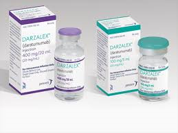RX ITEM-Darzalex daratumumab) 100Mg/5Ml Vial 5Ml By Jom Pharmaceutical