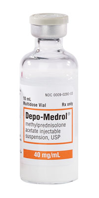 Depo Medrol 40mg/ml Vial 10ml by Pfizer Pharma Inj