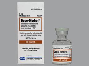 Rx Item-Depo Medrol 40Mg/ml Vial 5ml By Pfizer Pharma Inj