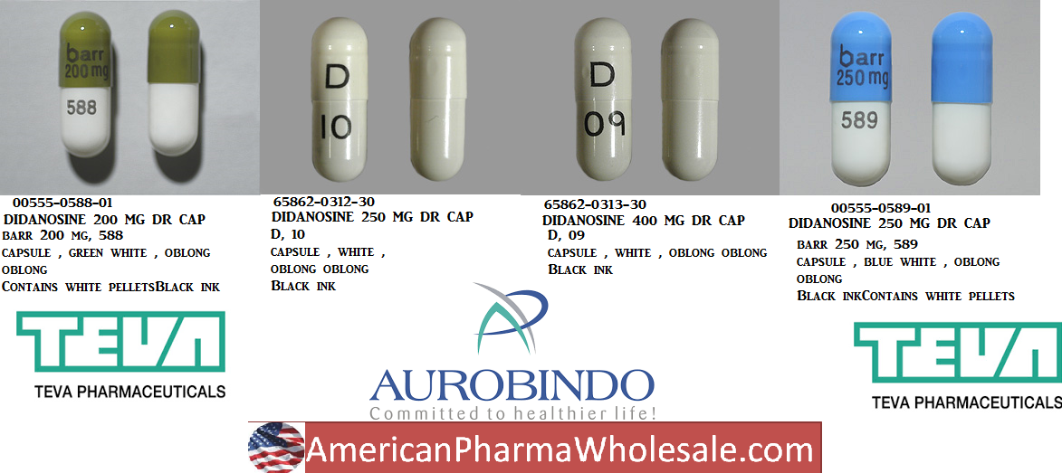 Rx Item-Didanosine Dr 125mg Cap 30 By Aurobindo Pharma