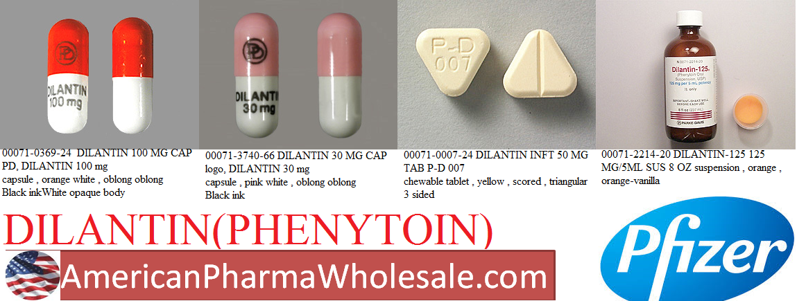 Rx Item-Dilantin 100mg Cap 100 By Pfizer Pharma