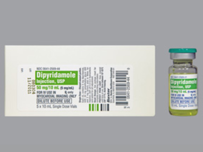 RX ITEM-Dipyridamole 5Mg/Ml Vial 5X10Ml By Westward Pharma