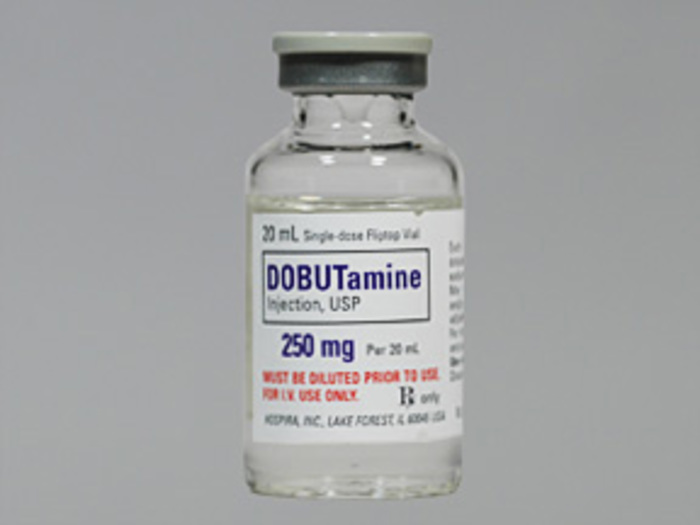 RX ITEM-Dobutamine 250Mg 20Ml Vial 10X20Ml By Hospira Worldwide