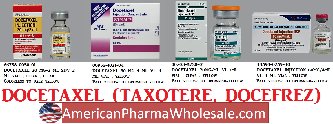 '.Taxotere 20Mg/Ml(1) Vial 1Ml By Aventis .'