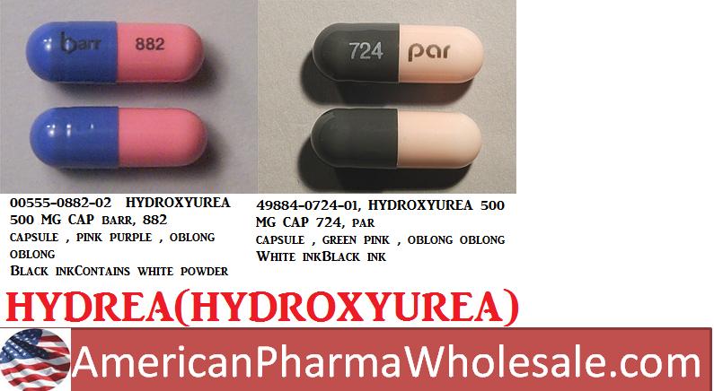 RX ITEM-Hydroxyurea 500Mg Cap 100 By American Health Packaging