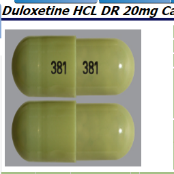 RX ITEM-Duloxetine 20Mg Cap 60 By Camber Pharma