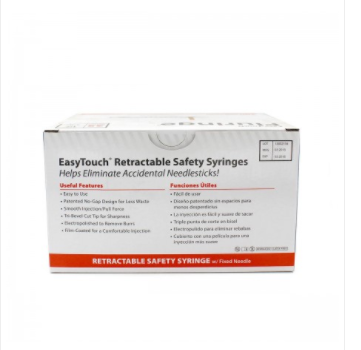 Easy Touch Fluringe 25G 1ml  100 Ct