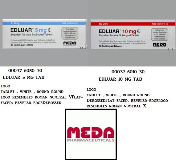 RX ITEM-Edluar 10Mg Tab 30 By Meda Pharma