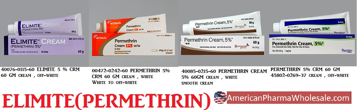 Rx Item-Permethrin 5% Cream 60gm By Actavis Pharma(Teva)
