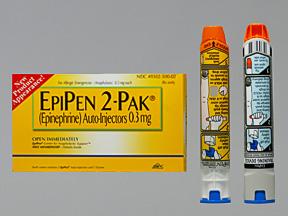 Epipen EPI-PEN 0.3mg 0.3 Syg 2 by Mylan Specialty Lp
