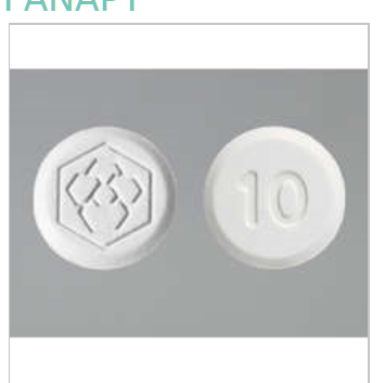 Fanapt 10mg Tab 60 by Vanda Pharma